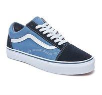 נעלי ואנס יוניסקס דגם Old Skool VD3HNVY בצבע נייבי
