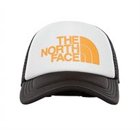 כובע מצחייה בשילוב לוגו המותג The North Face בצבע לבן/צהוב/שחור