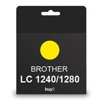 על איכות לא מתפשרים! ראש דיו תואם BROTHER LC 1240/1280 צבע צהוב, דיו איכותי למדפסת