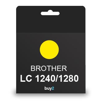 ראש דיו תואם BROTHER LC 1240/1280 צהוב