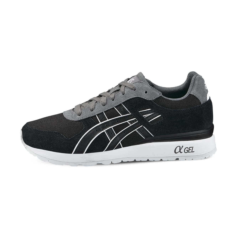 נעלי אופנה Asics יוניסקס דגם H646L-9090 - שחור אפור