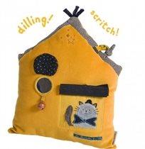 כרית פעילות צהובה - Moulin Roty