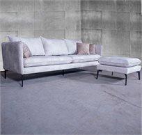 ספה תלת מושבית מעוצבת במגוון סוגי בד וצבעים לבחירה