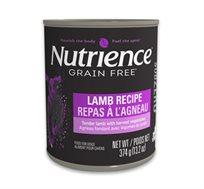 6 שימורי Nutrience לכלבים עם כבש