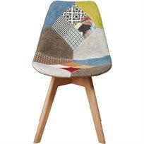 כיסא לפינת אוכל Patchwork Graham  - צבעוני - משלוח חינם