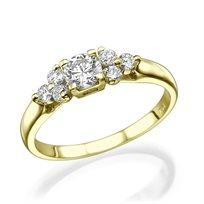 טבעת יהלומים מיוחדת 0.60 קראט