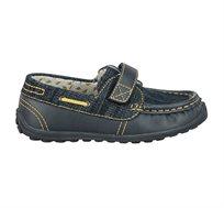 נעלי ג'קי מוקסין קנבס - נייבי