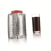קולר קירור מיוחד לפחית יהלום ירוק לקירור למשך שעות מבית vacu vin