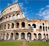 """חופשה ברומא היפהפיה! טיסות הלוך וחזור, 6 לילות במלון Jonico ע""""ב לינה וא.בוקר רק בכ-€499* לאדם!"""