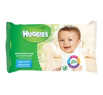 28 חבילות מגבוני Huggies ללא בישום