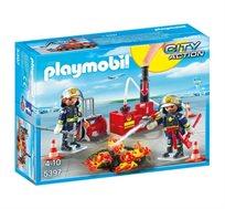 פליימוביל לוחמי אש בפעולה + דמות פליימוביל מתנה!