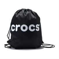 Crocs - תיק ים שחור עם שרוכים