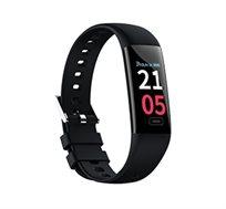שעון ספורט VISIONTEK כולל מסך OLED מד דופק ומד לחץ דם מובנים מד צעדים מדידת מרחק וקלוריות