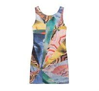 שמלה DESIGUAL MINERVA לנשים צבעונית