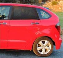 זוג מגיני שמש איכותיים לחלונות אחוריים ברכב