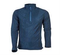 2 חולצות גברים / נשים בד מיקרו פליז קל משקל ומחמם דגם GoNature HALF ZIPPER במבחר צבעים