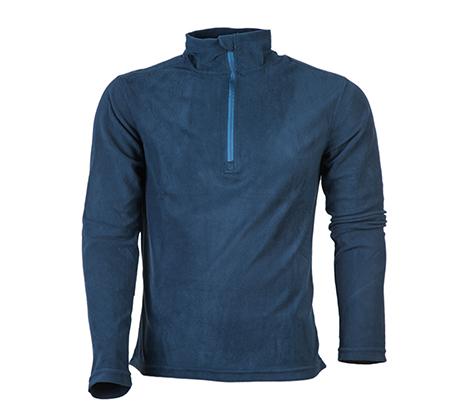 2 חולצות גברים / נשים בד מיקרו פליז קל משקל ומחמם דגם GoNature HALF ZIPPER במבחר צבעים - משלוח חינם
