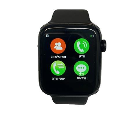 Smart Watch שעון חכם תומך בעברית ל-Apple/Android כולל מענה לשיחות, ניטור שינה ועוד - משלוח חינם - תמונה 2