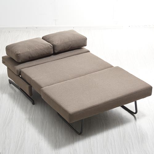 ספה מעוצבת מרופדת בד ונפתחת למיטה רחבה דגם זוהר HOME DECOR - תמונה 3