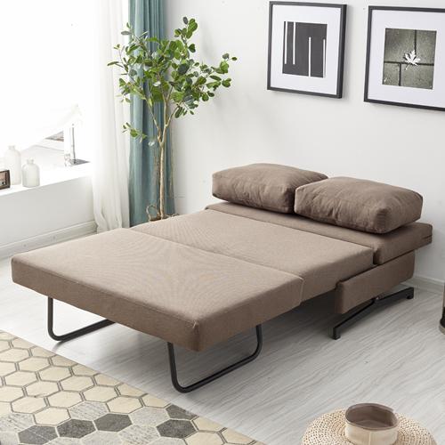 ספה מעוצבת מרופדת בד ונפתחת למיטה רחבה דגם זוהר HOME DECOR - תמונה 5