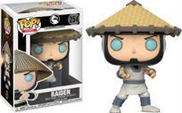 Funko Pop - Raiden (Mortal Kombat) 254  בובת פופ