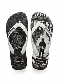 HAVAIANAS גברים //  TOP HARRY POTTER WHITE