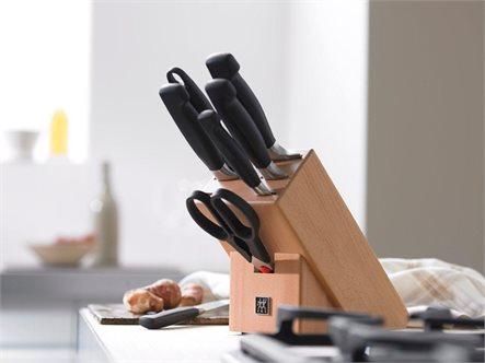 החיתוך המושלם במטבח! סט סכינים מקצועיות מסדרת Four Star מבית 'Zwilling' תוצרת גרמניה, ב-₪675! - תמונה 2