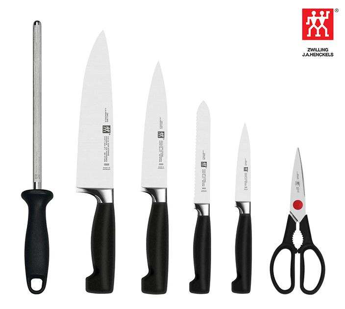 החיתוך המושלם במטבח! סט סכינים מקצועיות מסדרת Four Star מבית 'Zwilling' תוצרת גרמניה, ב-₪675! - תמונה 6