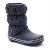 Crocs Winter Puff Boot - מגף חורף לנשים בצבע שחור