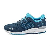נעלי אופנה Asics יוניסקס דגם H638Y-4545 בצבע כחול תכלת