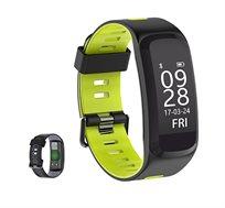 שעון ספורט Bluetooth מסך OLED  עם מד דופק ומד לחץ דם מובנים