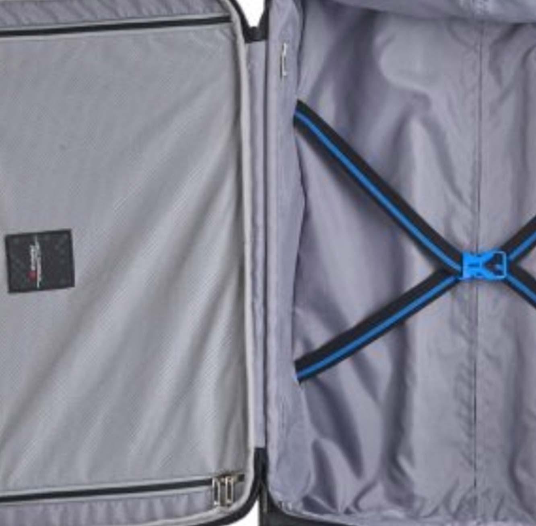סט מזוודות ECHOLAC MUSE  בצבע אפור בהיר או כהה - משלוח חינם - תמונה 7