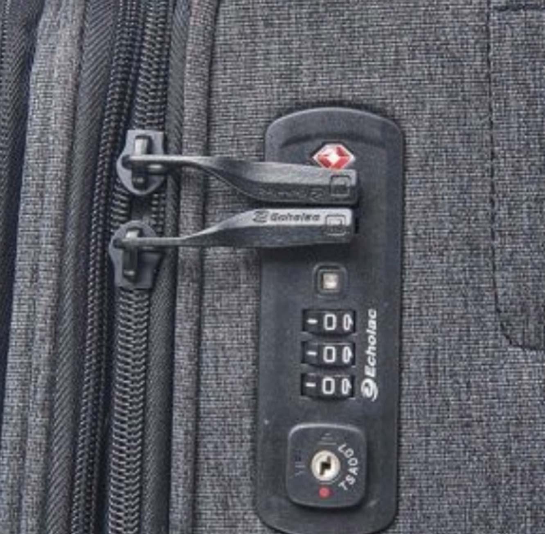 סט מזוודות ECHOLAC MUSE  בצבע אפור בהיר או כהה - משלוח חינם - תמונה 5