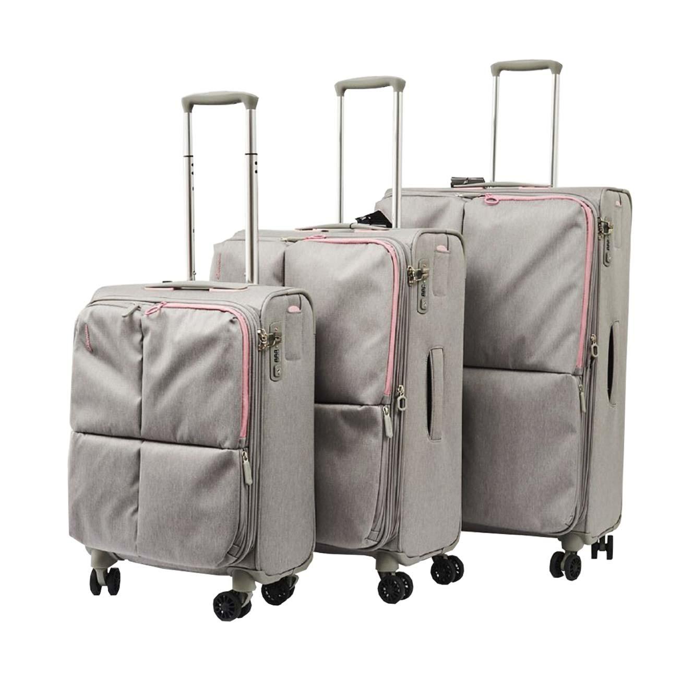 סט מזוודות ECHOLAC MUSE  בצבע אפור בהיר או כהה - משלוח חינם - תמונה 2
