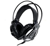 אוזניות  גיימינג 4D מקצועיות עם רטט ותאורה HP דגם HP-H100