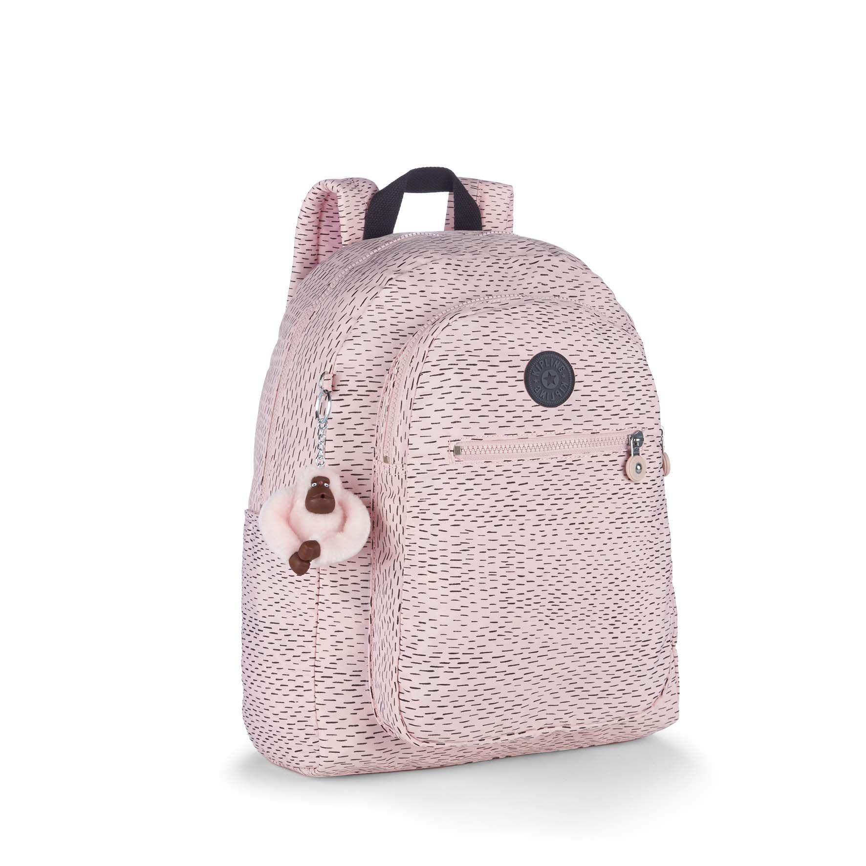תיק גב החתלה Bizzy Boo - Soft Pink Strורוד בייבי מקווקו