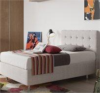 מיטת נוער מרופדת עם ראש מעוצב וארגז מצעים גדול במיוחד דגם ROMA מבית Aeroflex