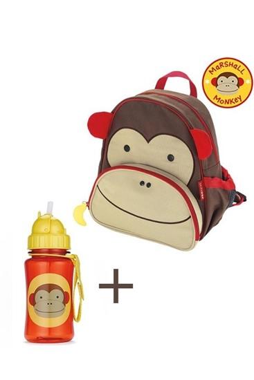 קוף - תיק גן ובקבוק תואם