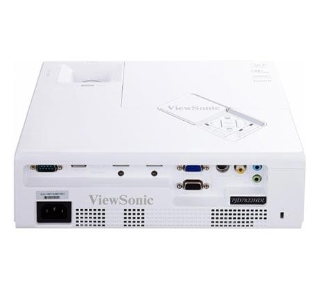 מקרן קולנוע Full HD ברזולוציה טבעית גבוהה הכולל שתי כניסות HDMI דגם ViewSonic 7822HDL - משלוח חינם - תמונה 2