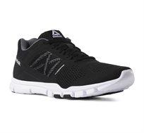 נעלי אימון Reebok לגברים בצבע שחור ואפור