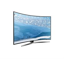 """טלוויזיה Samsung """"43 LED 4K קעורה Smart TV מנגנון החלקת תמונות 1600PQI מעבד צבע מציאותי ועיצוב דק"""