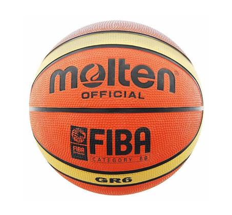 כדורסל MOLTEN גודל 6 דגם GR6