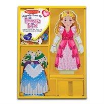 משחק הלבשה מגנטי מעץ הנסיכה אליס - Melissa& Doug