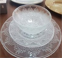 סט כלי אוכל 18 חלקים מזכוכית דגם Bella