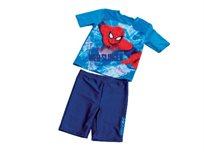 פותחים את עונת הרחצה עם בגד ים 'דיסני' מכנס וחולצה בדמות ספיידרמן לבנים בצבע כחול