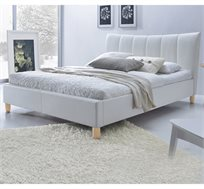 מיטת זוגית מרופדת 140X190 בעיצוב מודרני דגם SANDY