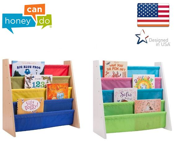 ארגונית מעוצבת ואיכותית לספרים עם 4 קומות בדגמים לבחירה Honey can do ארה