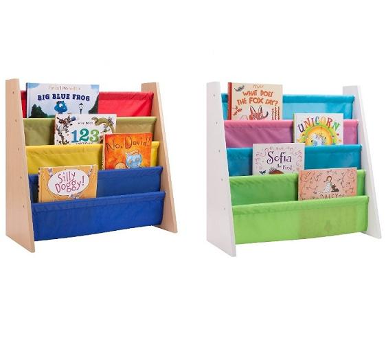 ארגונית מעוצבת ואיכותית לספרים עם 4 קומות