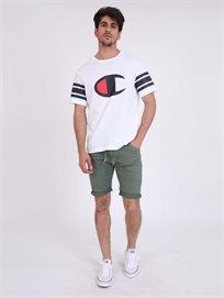 Pepe Jeans גברים - מכנסי ג'וגר קצרות