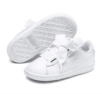 נעלי סניקרס Puma Vikky Ribbon L Satin AC לילדות - לבן